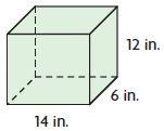 Go Math Grade 5 Answer Key Chapter 11 Geometry and Volume Lesson 9: Algebra Apply Volume Formulas img 115