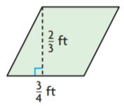 Go Math Grade 6 Answer Key Chapter 10 Area of Parallelograms img 4