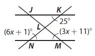Go Math Grade 8 Answer Key Chapter 11 Angle Relationships in Parallel Lines and Triangles Mixed Review img 31