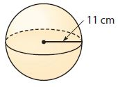 Go Math Grade 8 Answer Key Chapter 13 Volume Lesson 3: Volume of Spheres img 16