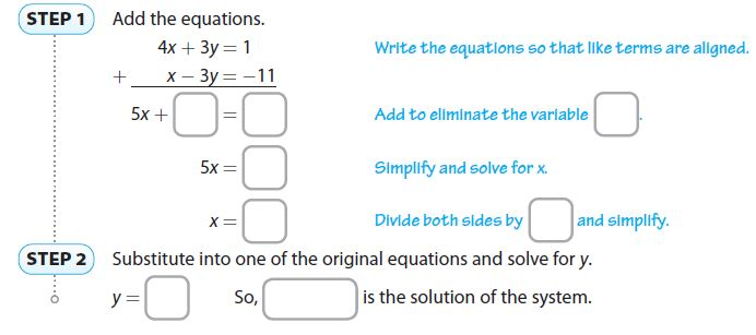 Go Math Grade 8 Answer Key Chapter 8 Solving Systems of Linear Equations Lesson 3: Solving Systems by Elimination img 12