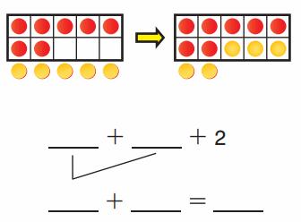 Go Math Answer Key Grade 1 Chapter 3 Addition Strategies 205