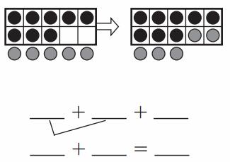 Go Math Answer Key Grade 1 Chapter 3 Addition Strategies 212