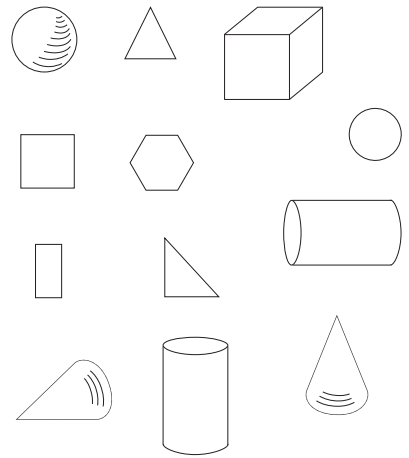 Go Math Answer Key Grade K Chapter 10 Identify and Describe Three-Dimensional Shapes 10.6 3