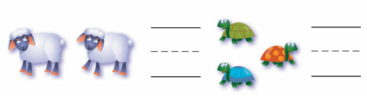 Go Math Answer Key Grade K Chapter 2 Compare Numbers to 5 58