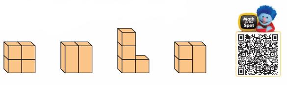 Go Math Grade 1 Answer Key Chapter 11 Three-Dimensional Geometry 50