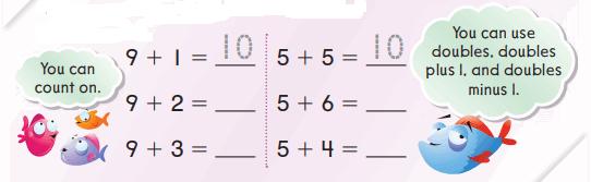 Go Math Grade 1 Chapter 3 Answer Key Pdf Addition Strategies 137