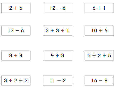 Go Math Grade 1 Chapter 5 Answer Key Pdf Addition and Subtraction Relationships 150