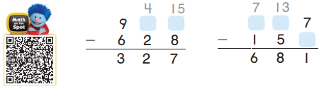 Go Math Grade 2 Answer Key Chapter 6 3-Digit Addition and Subtraction 6.9 17