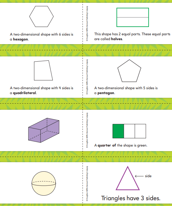 Go Math Grade 2 Chapter 11 Answer Key Pdf Geometry and Fraction Concepts 3.2