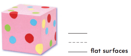 Go Math Grade K Answer Key Chapter 10 Identify and Describe Three-Dimensional Shapes 10.3 3