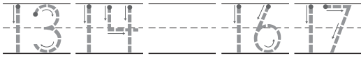 Go Math Grade K Answer Key Chapter 8 Represent, Count, and Write 20 and Beyond 8.3 9