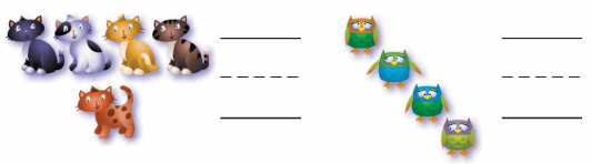 Grade K Go Math Answer Key Chapter 2 Compare Numbers to 5 62