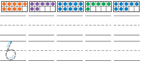 Grade K Go Math Answer Key Chapter 4 Represent and Compare Numbers to 10 4.4 5