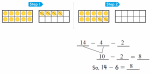 Go-Math-1st-Grade-Answer-Key-Chapter-4-Subtraction-Strategies-104