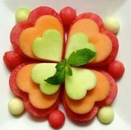 gyümölcs szívek