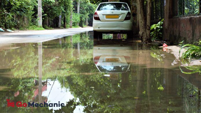 Flood Damage during Monsoon
