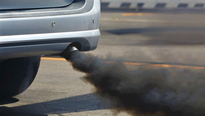 Diesel Engine Exhaust Smoke
