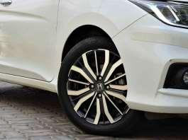 Honda city front tyre