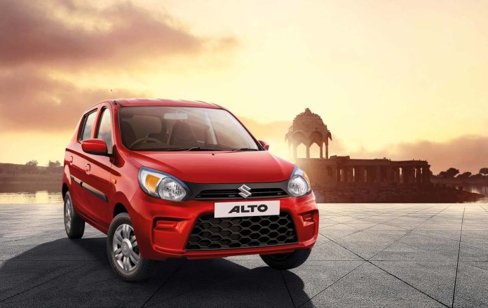 Maruti Suzuki Alto Crowned The King Of Passenger Vehicles