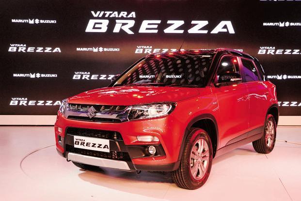 Maruti Suzuki Vitara Brezza   10 Best Budget SUVs In India