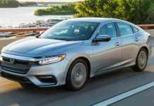 Honda Insight Hybrid Sedan Spied In India