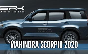 2020 Mahindra Scorpio