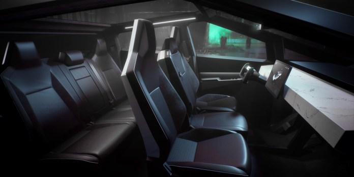 Tesla Cybertruck   Quirky Yet Powerful   Interior