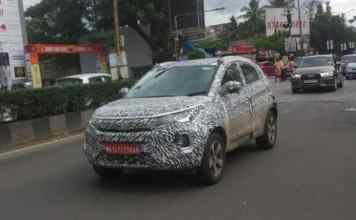 Tata Nexon was spotted on the streets of India and despite heavy camouflage, it was spotted with an emission testing kit akin to a BS6 engine.