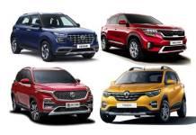 Kia, Hyundai, MG SUVs help brands gain market share in April-December 2019
