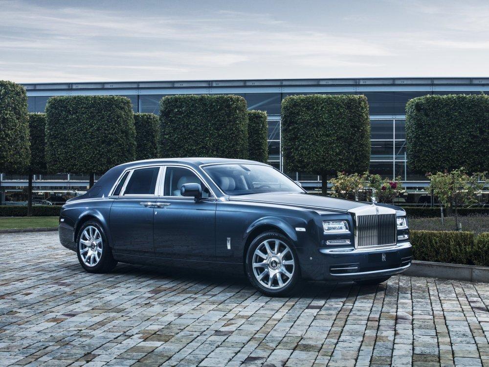 Chiranjivi | Rolls Royce Phantom