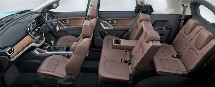 New Tata Safari 7 Seater Variant