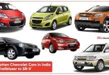 9 Forgotten Chevrolet Cars in India From Trailblazer to SR-V