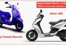 Bajaj Chetak Electric vs Ather 450: The best electric scooter?