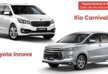 Toyota Innova vs Kia Carnival: Does the Kia has what it takes?