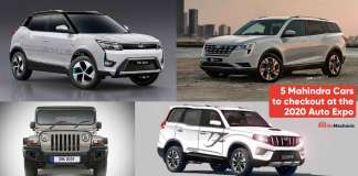5 Mahindra Cars at the 2020 Auto Expo that you need to checkout!