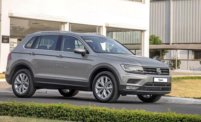 current model of Volkswagen Tiguan in India| credits-gaadiwaadi.com