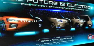 Mahindra teases its Electric Car line-up for the Auto Expo 2020