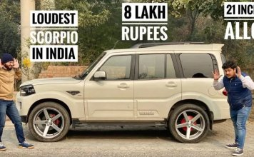 Mahindra Scorpio with a Rs.8 lakh Audio Set-up [Watch Video]