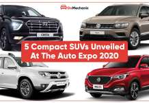 Top 5 SUV Car Launches at the Auto Expo 2020
