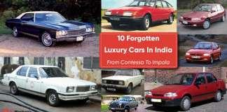 10 Forgotten Luxury Cars In India | From Contessa To Impala
