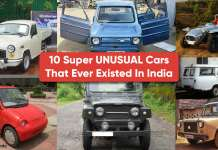 10 Super UNUSUAL Cars that ever existed in India