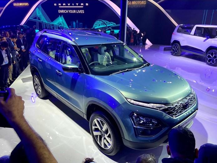 Tata Gravitas | Upcoming SUV Showcased at Auto Expo 2020