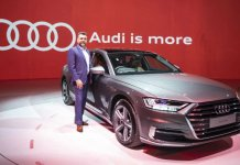 Audi A8L launched in India