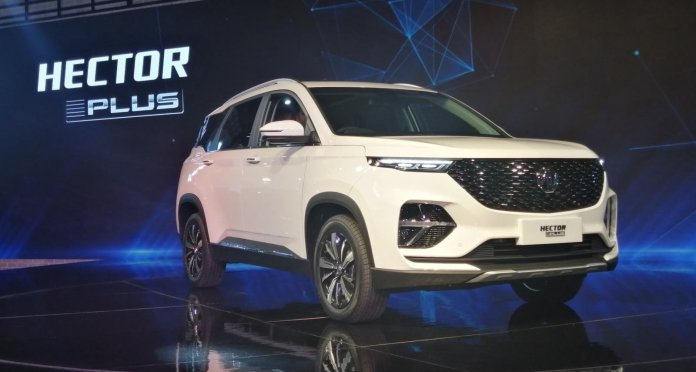 MG Hector Plus | Cars at Auto Expo 2020