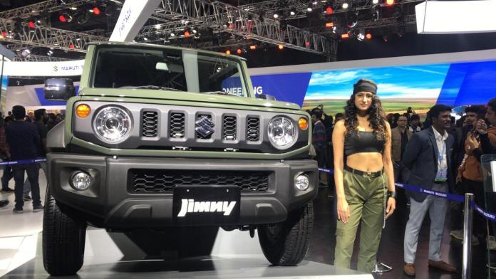 Maruti Suzuki Jimny Unveiled At The Auto Expo 2020 Day 4