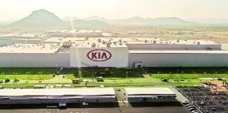 Kia Motors plant in Andhra Pradesh