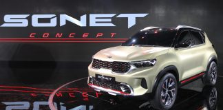 Kia Sonet | Upcoming SUV Showcased at Auto Expo 2020
