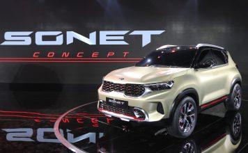 Kia Sonet | Upcoming SUV Showcased at Auto Expo 2020