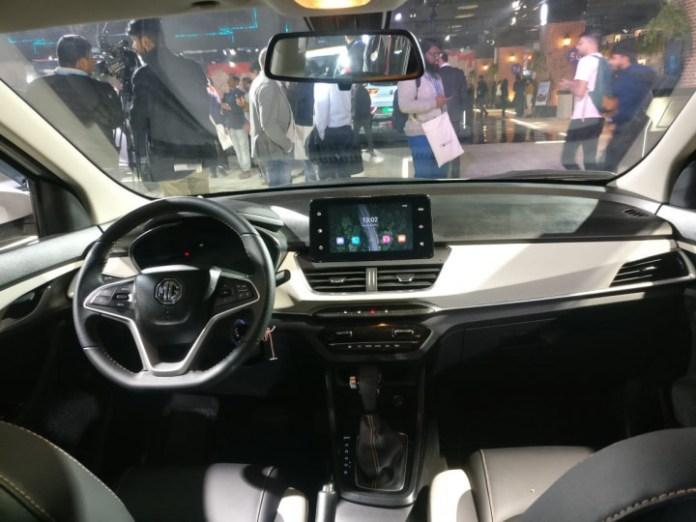Interiors of the car   Credits: India Car News